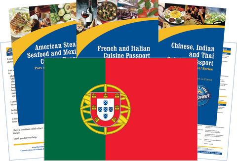 GlutenFree Passport Travel Paks (Paper) Portugal Gluten Free Travel Kit (PAPER)