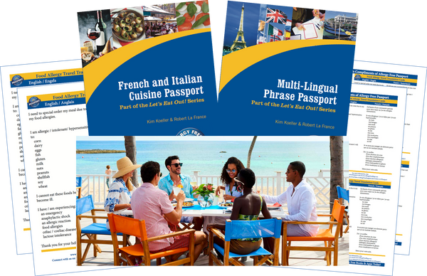 GlutenFree Passport Travel Paks (Paper) St. Martin Food Allergy Travel Bundle (PAPER)