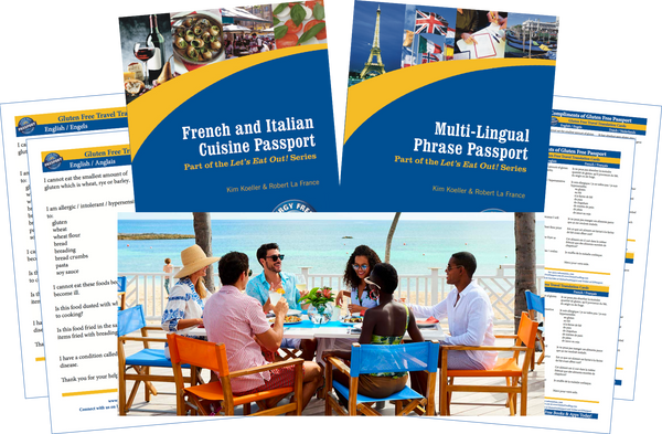 GlutenFree Passport Travel Paks (Paper) St. Martin Gluten Free Travel Bundle (PAPER)
