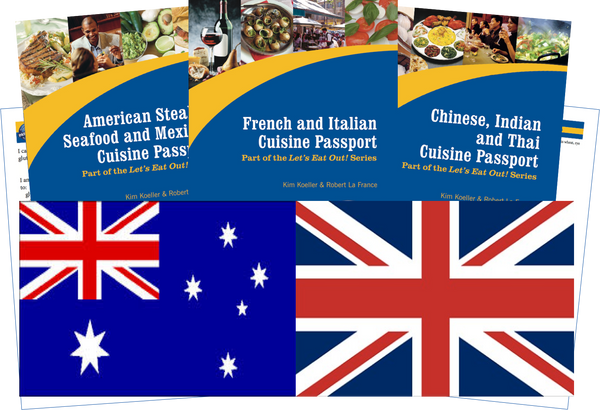 GlutenFree Passport Travel Paks (Paper) UK Gluten Free Travel Kit (PAPER)