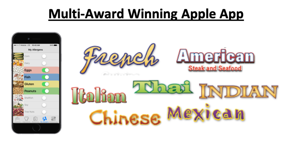 Safely Eat in Europe with Award-Winning Tools