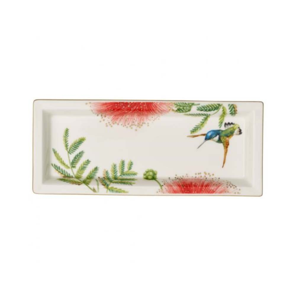 VILLEROY & BOCH AMAZONIA GIFTS BOWL RECTANGULAR