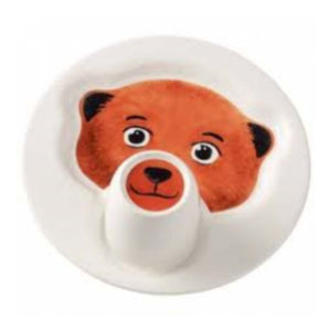 Animal Friends Plate with Mug Bear
