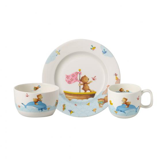 VILLEROY & BOCH HAPPY AS A BEAR SET 3PC