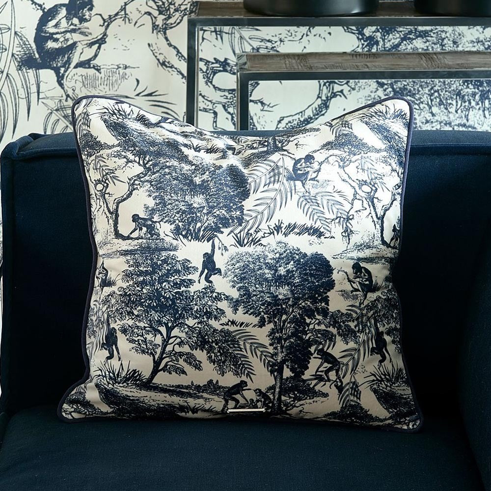 Toile Printed Pillow Cover 50x50 Riviéra Maison