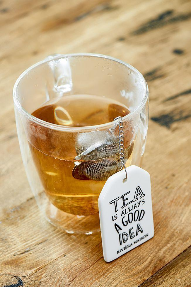RIVIERA MAISON  Tea Label Tea Infuser