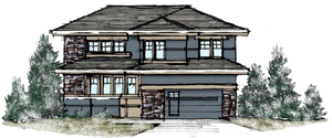 Cedar Elevation Rocky Mountain Plan Company