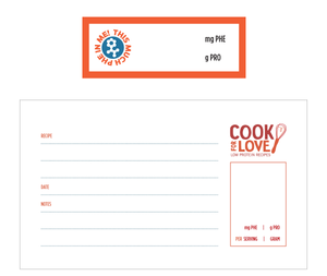 Cook for Love Label Set