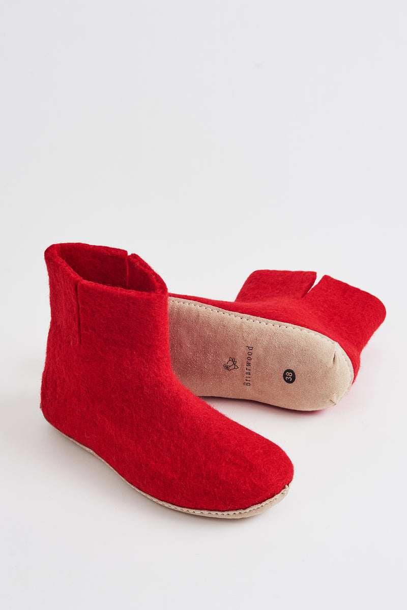 Briarwood red bootie