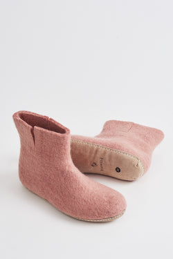 Briarwood dusky pink bootie