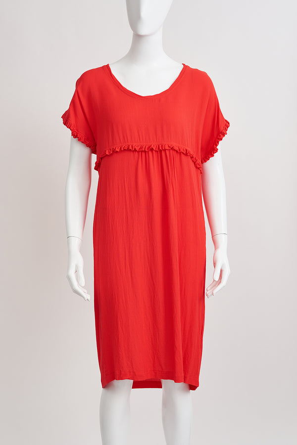 Briarwood Georgia orange dress