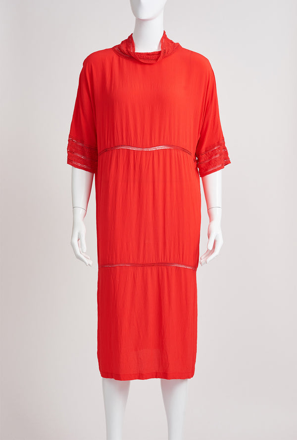 Briarwood Glory lace orange dress
