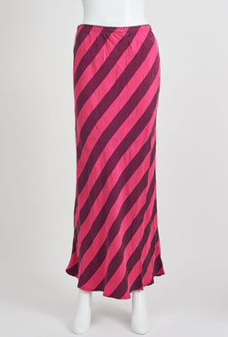 Briarwood Hattie pink stripes skirt