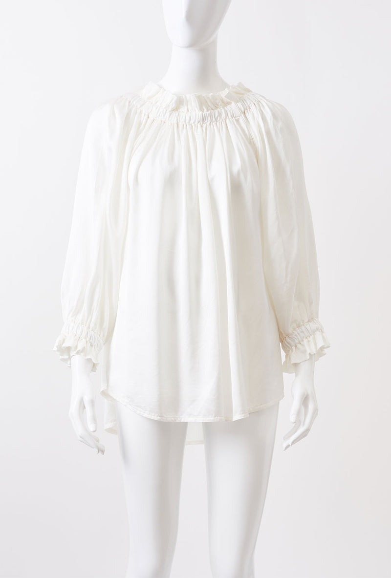 Briarwood Louis tie back top ivory