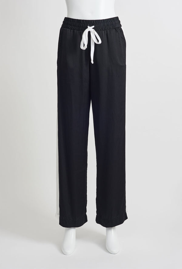Madi black wide leg pants