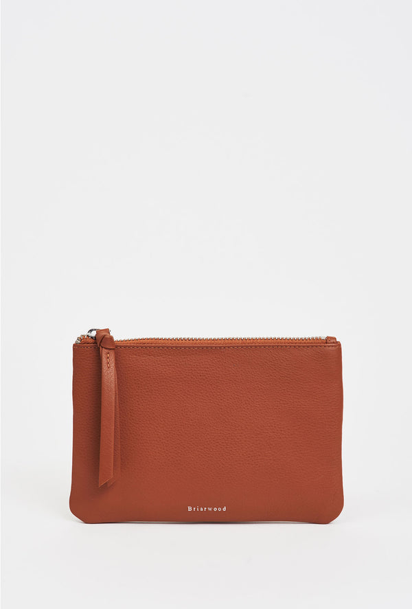 Briarwood Princess tan pouch