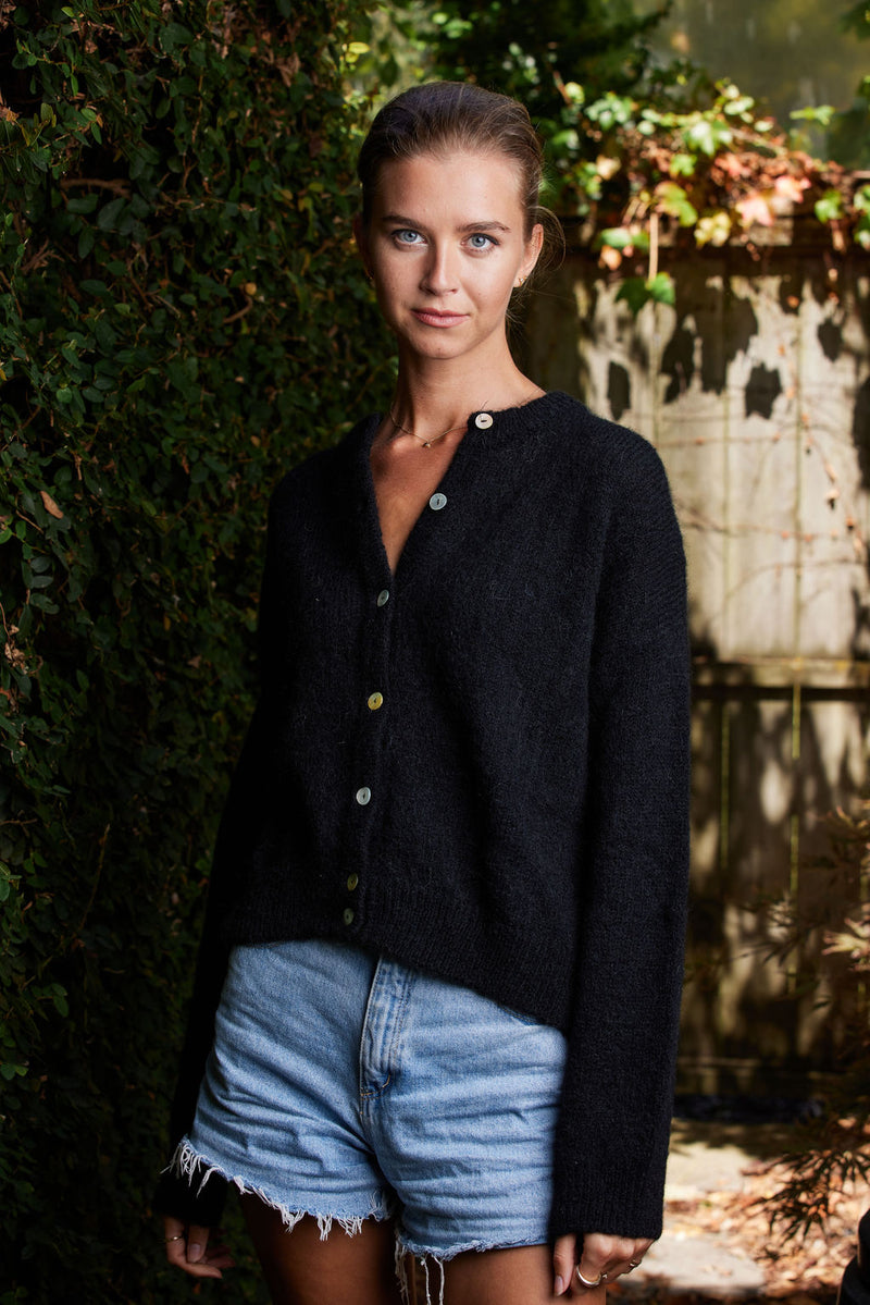 Briarwood Rafferty black cardi