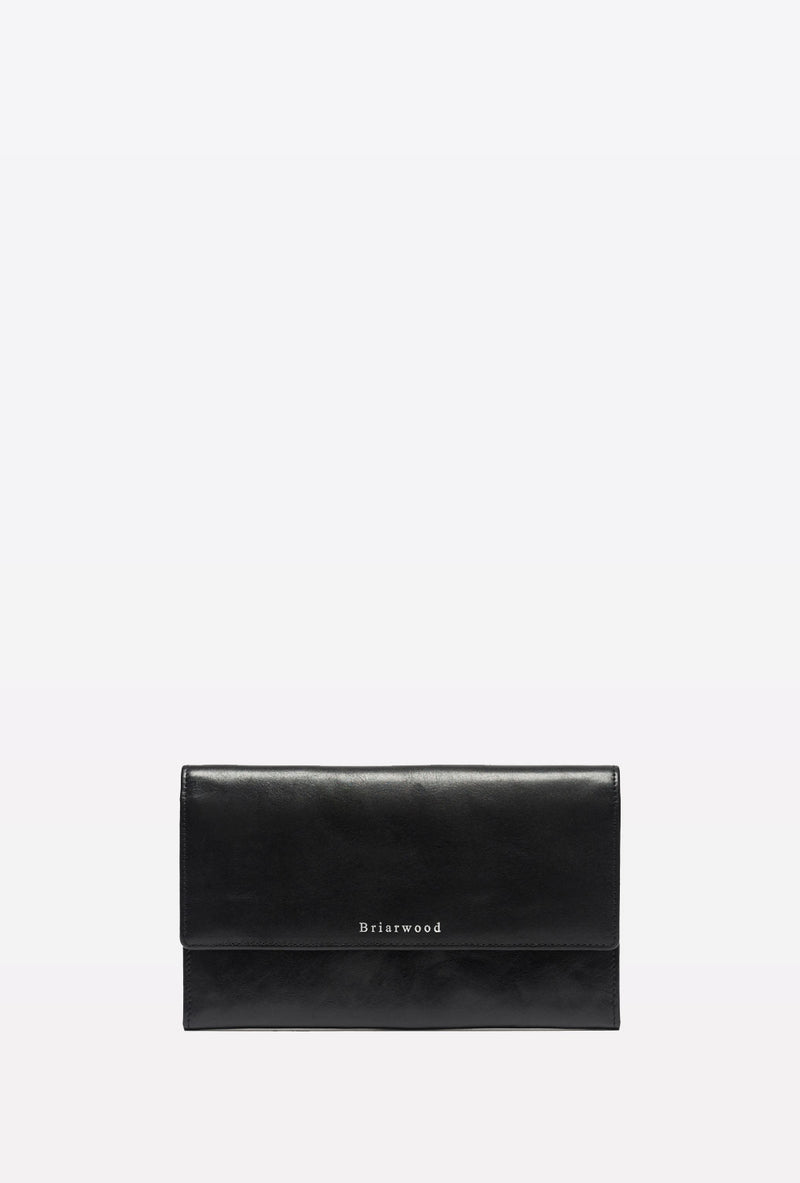 TRAVEL WALLET BLACK