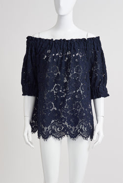 Briarwood Trinity ink lace top