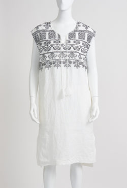 Briarwood Trinnie white linen dress