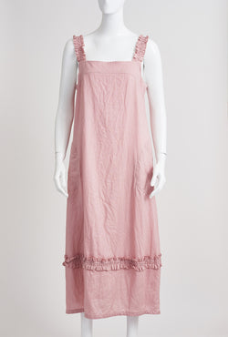 Briarwood Webb pink linen dress