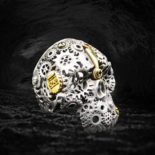 the gear skull ring, version without jaws