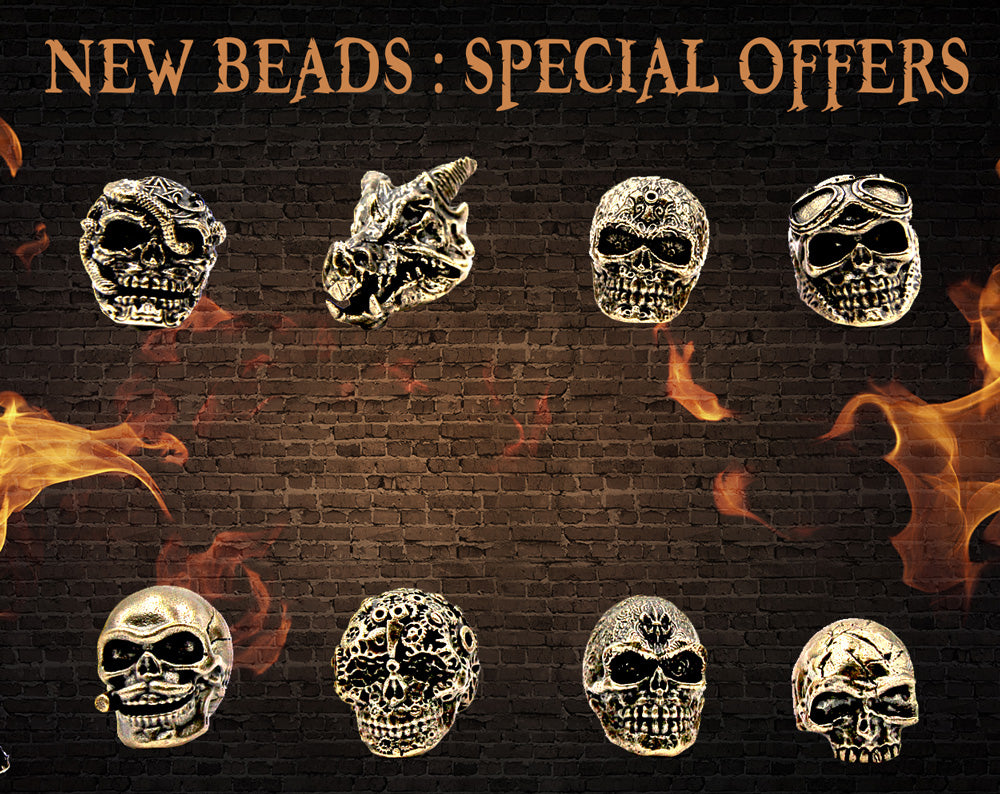 skull rings collection