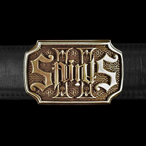 2 Saints Belt Buckle