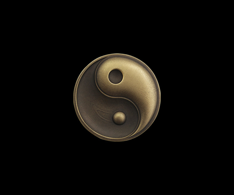Coin Toss Yin Yang of Life and Death