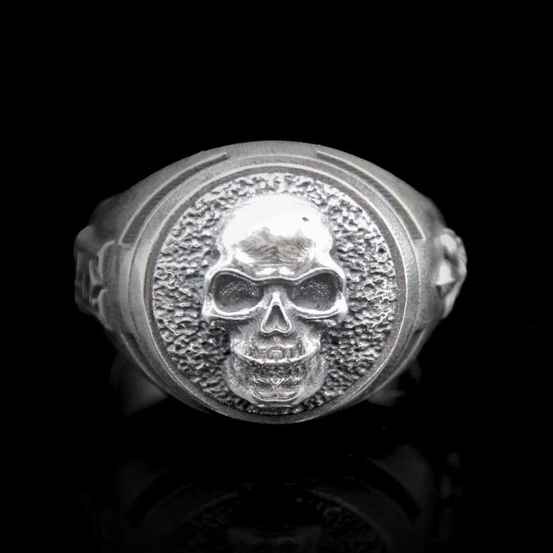 House of Skull Signet Ring