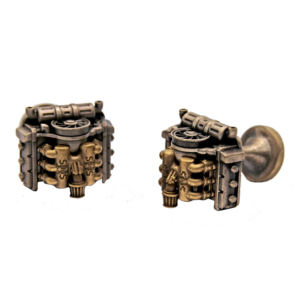 Flat Six Racing WY Cufflinks