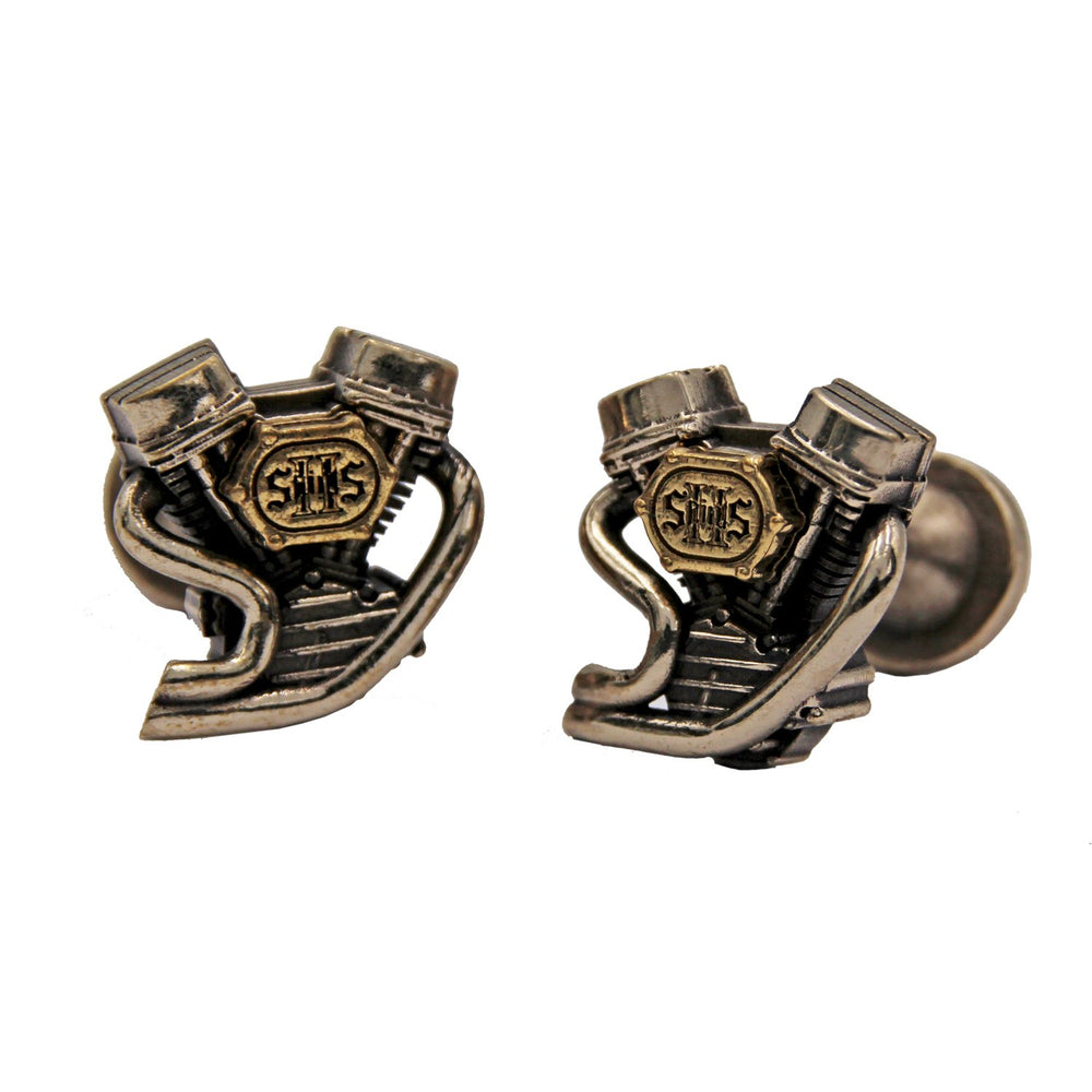 V-Twin 2 Saints WY Cufflinks