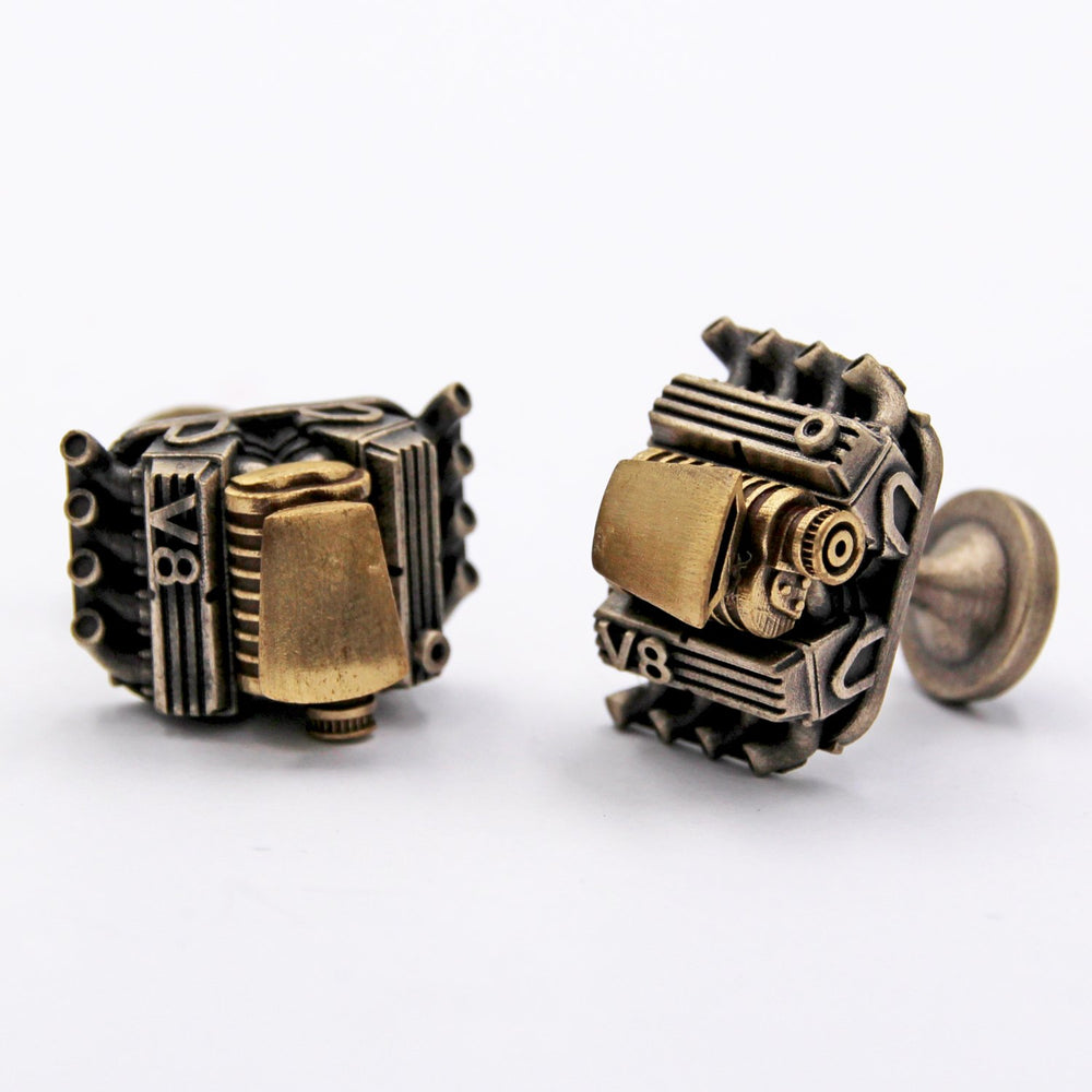 V8 Compressor WY Cufflinks