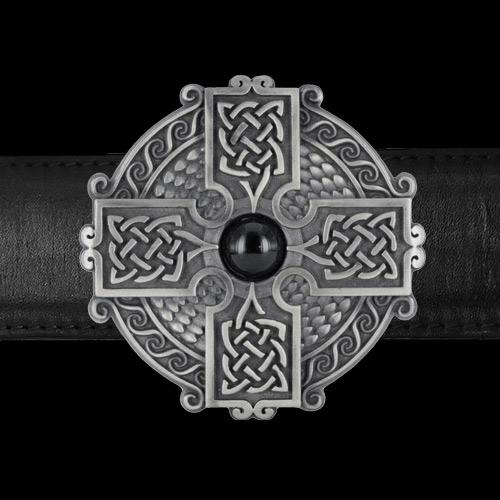 Celtic Cross II Belt Buckle