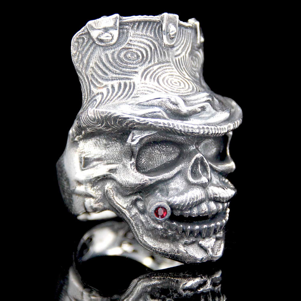 The Dandy Skull Ring