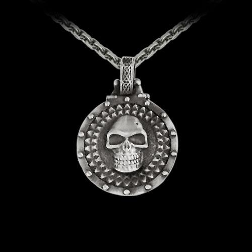 Diamond Skull Pendant
