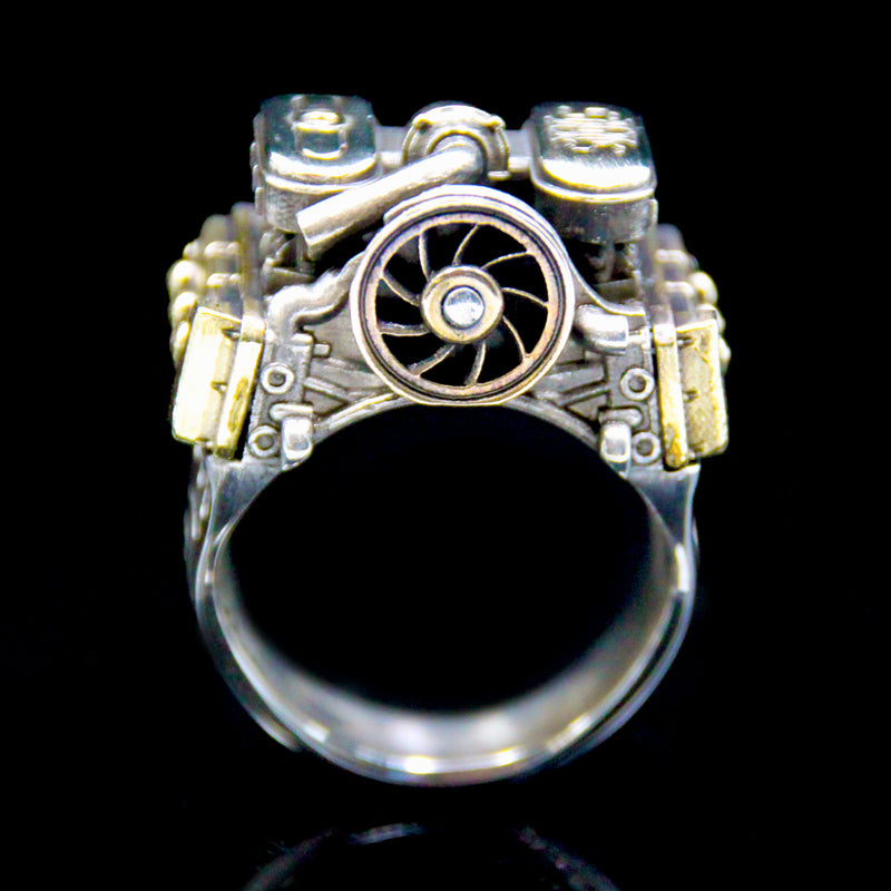 Flat Six Vintage XL Ring