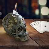 Gear Skull Table Lighter