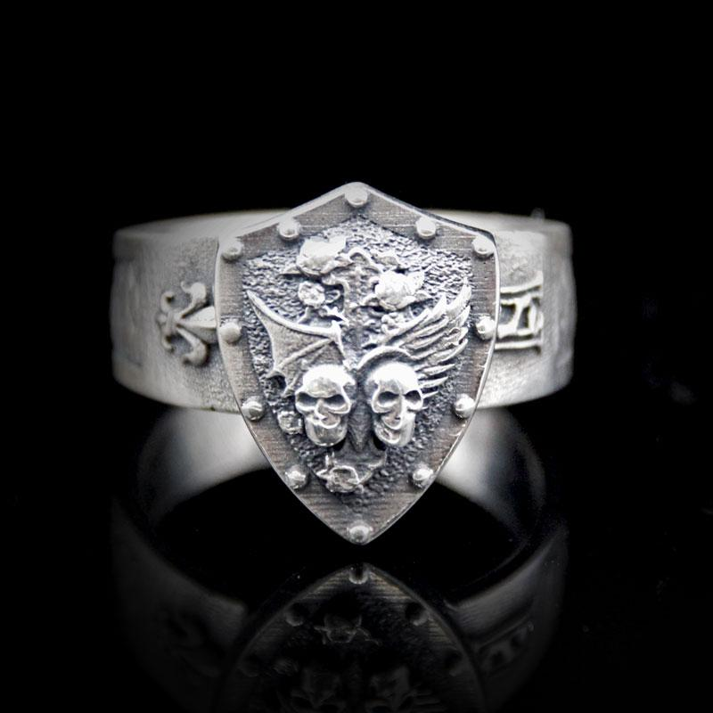Heaven & Hell Signet Ring