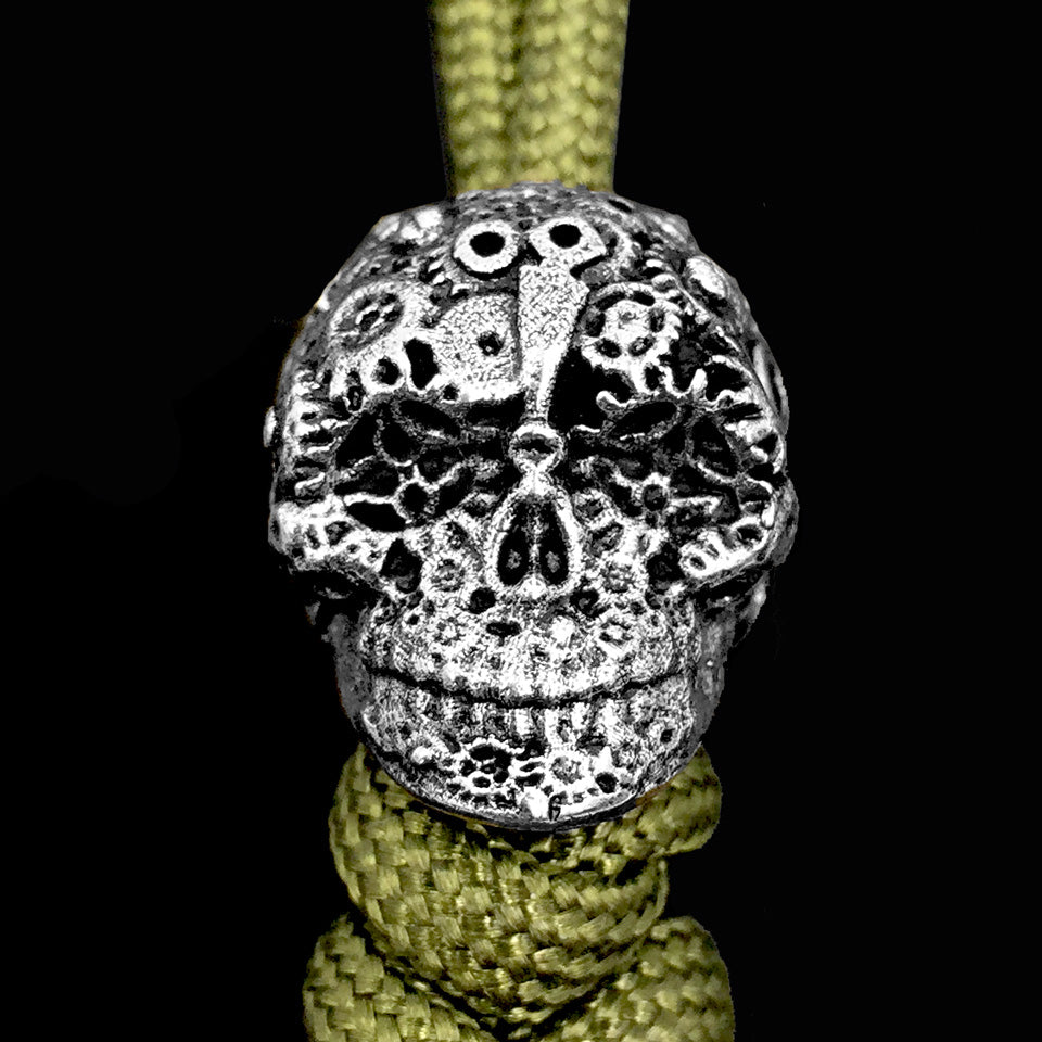 The Gear Skull Bead
