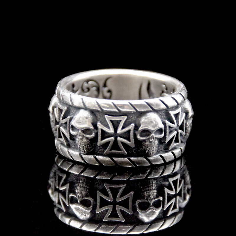 Malta Cross Lucky Ring
