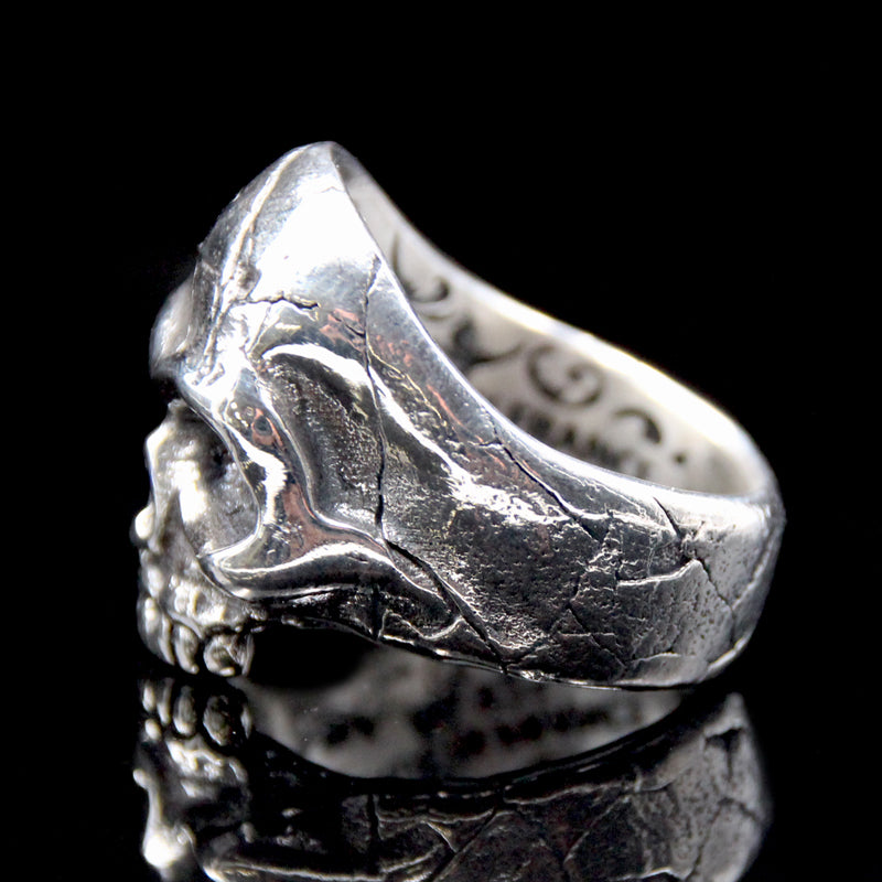 The Memento Mori Skull Ring silver 5