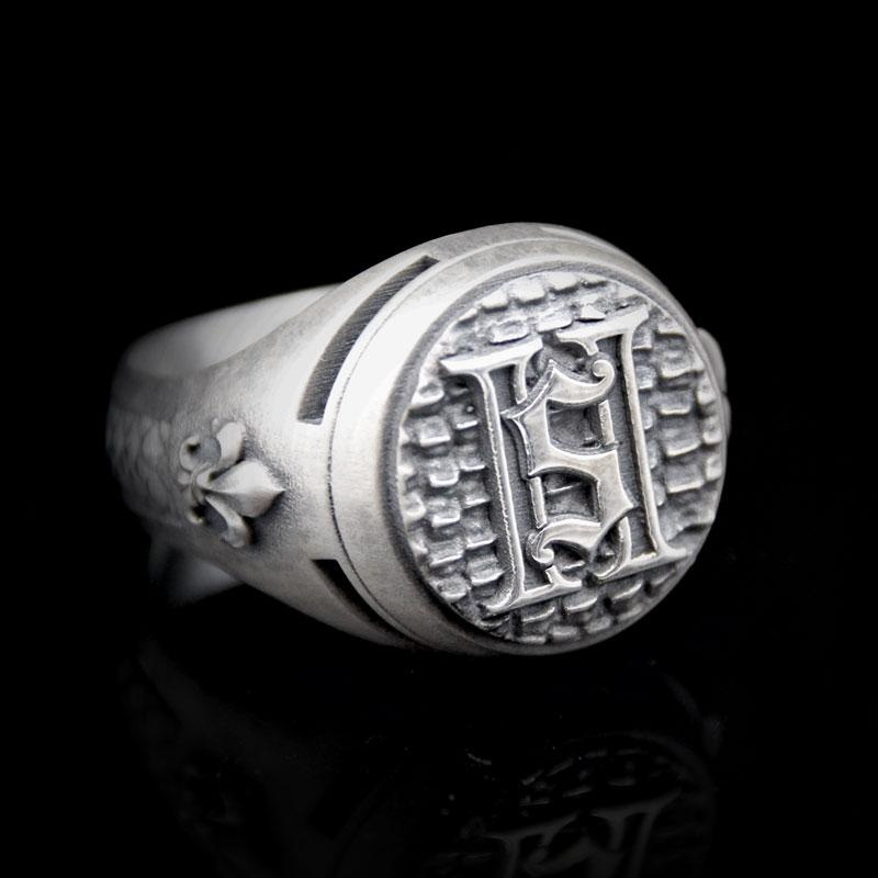 2 Saints Signet Ring