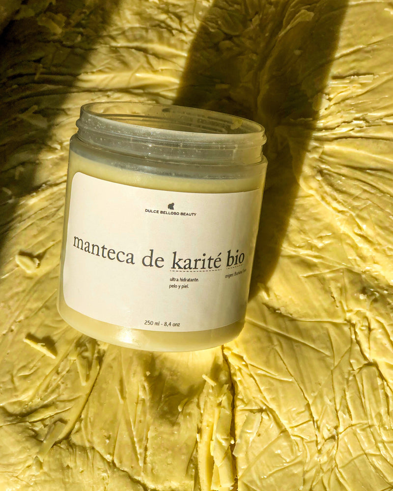 MANTECA DE KARITÉ BIO 250ML - dulce belloso beauty