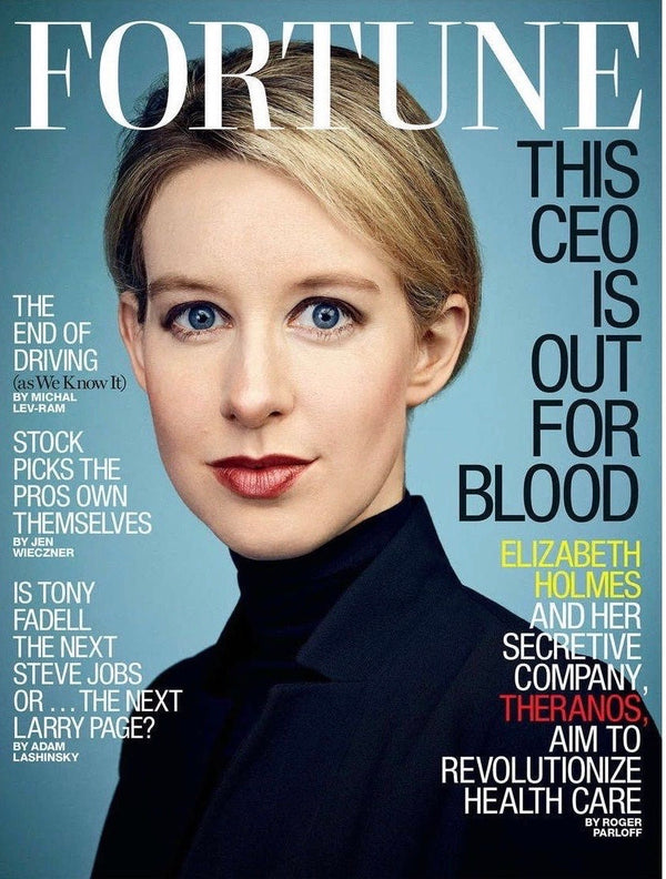 Fortune Magazine - June 30th, 2014 - Elizabeth Holmes