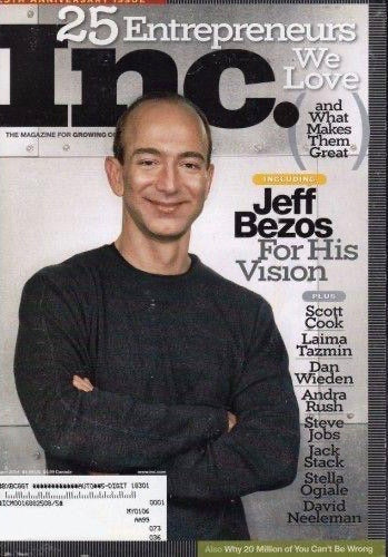 Inc. April 2004 - Jeff Bezos