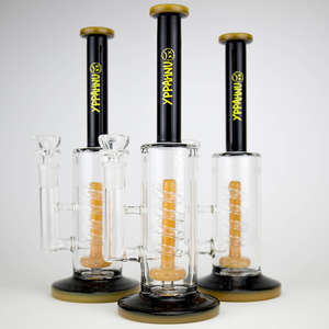 **LIMITED EDITION NUMBERED** BLACK SMOKE UNHAPPY WATER PIPE