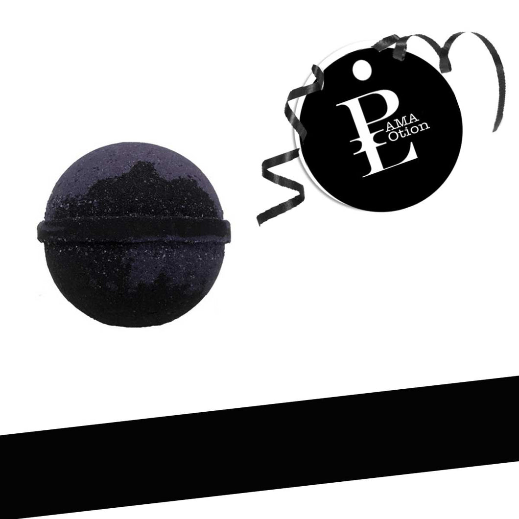 BLACK AMETHYST BATH BOMB -