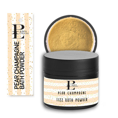 PEAR CHAMPAGNE FIZZY BATH POWDER