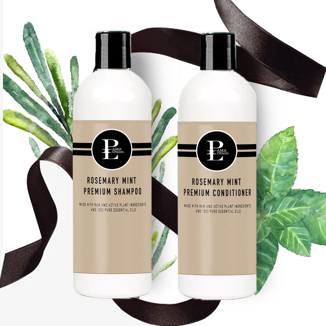 ROSMARY MINT PREMIUM SHAMPOO & CONDITIONER